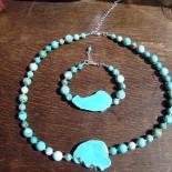 Turquoise Howlite Jewelry