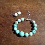 Turquoise Howlite Jewelry III.