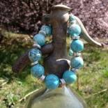 Turquoise Howlite Jewelry IIII.