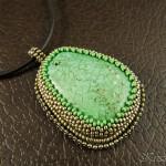 Green Howlite Pendant